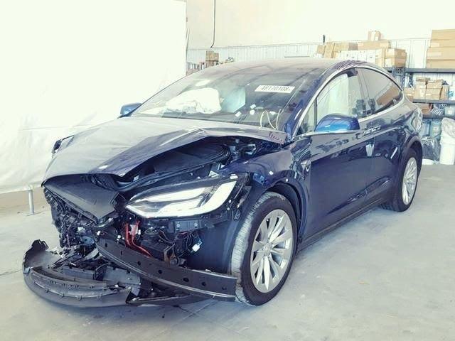 Tesla Model X 100D обережно, мерзотники, бракороби!